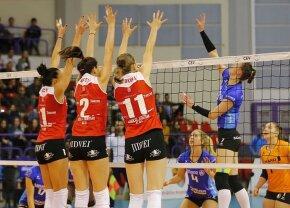Victorie și suspans! Volei Alba Blaj a câștigat primul meci din turul III preliminar din Liga Campionilor