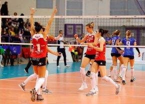 Aproape de obiectiv » Volei Alba Blaj e la un meci distanță de grupele Ligii Campionilor la volei feminin