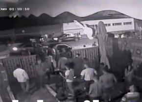 VIDEO Imagini cu puternic impact emoțional! A apărut filmul complet al scandalului de la Brăila, în care au fost înjunghiați baschetbaliștii americani