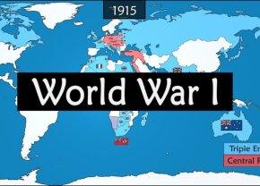 VIDEO Totul despre Primul Război Mondial în mai puțin de 9 minute: originea, evenimentele și consecințele