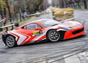 GALERIE FOTO + VIDEO E zi de raliu în București » Sute de cai putere fac spectacol la Campionatul Naţional de Super Rally, pe bulevardul Kiseleff!