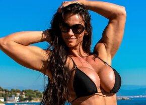 FOTO Nu te pui cu ea! Cea mai cunoscută practicantă a fitnessului din Elveția are forme spectaculoase