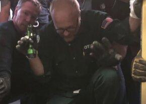 VIDEO Aproape tragic! Un lift plin cu oameni a căzut în gol mai multe zeci de etaje: toți au supraviețuit
