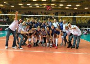 CSM București, victorie entuziasmantă la debutul în Liga Campionilor la volei feminin