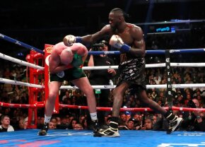 VIDEO+FOTO Furyos și iute » Verdict controversat în Wilder vs. Fury! Britanicul a dominat lupta, însă a fost pus de două ori la podea