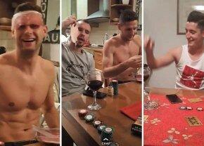 FOTO Scandal în Croația! Steliano Filip, petrecere cu alcool, țigări și poker înaintea derby-ului cu Dinamo Zagreb