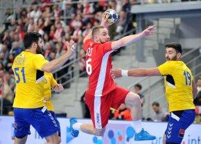 Eșec dramatic pentru naționala de handbal masculin la turneul din Polonia » Am fost egalați cu 17 secunde înainte de final și am pierdut la 7 metri!