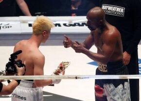 Mayweather vs Nasukawa // Japonezul demolat de Mayweather se înclină în fața americanului: