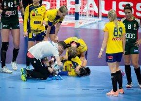 Reacție DURĂ a antrenorului lui CSM București după accidentarea Cristinei Neagu: