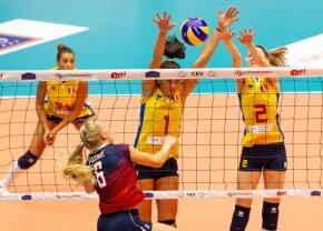 ROMÂNIA - SPANIA // România pierde în fața Spaniei, dar e aproape de EURO 2019 la volei feminin » Ce trebuie să facem pentru calificare