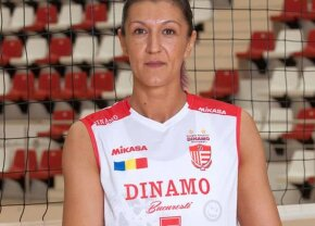 Recordmena de 45 de ani s-a retras din naționala României de volei și a plâns în hohote: