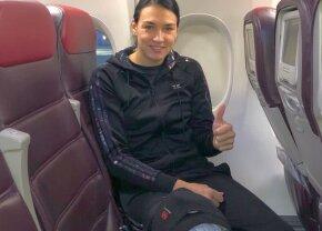 Cristina Neagu a plecat să se opereze în străinătate la clinica doctorului care i-ar fi greșit operația lui van Basten » Mesajul de la plecarea din țară