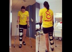 FOTO Cristina Neagu începe recuperarea » 7 pași pe care trebuie să îi urmeze cea mai bună handbalistă a României