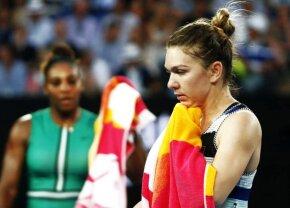 Final de drum! Halep pierde un meci ANTOLOGIC împotriva legendarei Serena