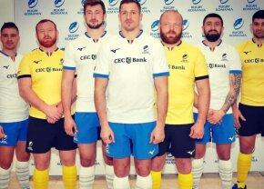 FOTO În echipament nou! Îmbrăcăminte inedită pentru naționala României de rugby