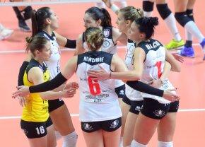 România are o finalistă în Cev Cup! Volei Alba Blaj și Știința Bacău se vor înfrunta în semifinale