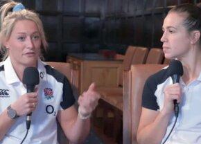 """VIDEO + FOTO Două jucătoare de rugby răspund la cea mai enervantă întrebare: """"Toată lumea vrea să știe dacă suntem sau nu lesbiene!"""""""