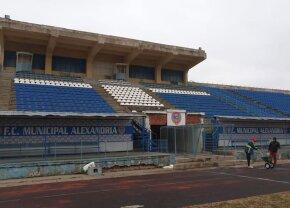 FOTO Un nou stadion modern se construiește în Alexandria » Se vor putea juca meciuri din Liga 1 și din cupele europene