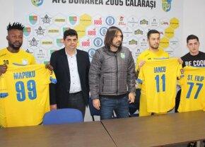 Dunărea Călărași a mai prezentat 3 transferuri! Iancu, Filip și Mapuku au semnat cu echipa lui Alexa
