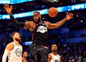NBA ALL STAR GAME // VIDEO+FOTO Ploaie de 3 puncte » Echipa lui LeBron James se impune pentru al doilea an la rând, după o revenire spectaculoasă