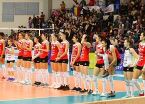 ȘTIINȚA BACĂU - VOLEI ALBA BLAJ // Demonstrație de forță! Volei Alba Blaj nu i-a dat nicio șansă Bacăului în semifinalele CEV Cup
