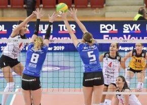 Se decide finalista! Volei Alba Blaj și Știința Bacău joacă astăzi returul semifinalei CEV Cup