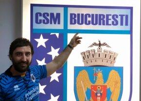 Internaționalul român de rugby 7 Julien Onuțu, la CSM București