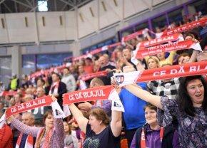 Volei Alba Blaj - Busto Arsizio 0-3 // FOTO + VIDEO Sala Transilvania, arhiplină la finala Cev Cup