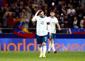 Messi, revenire de coșmar la națională după opt luni » Alt eșec și altă accidentare!