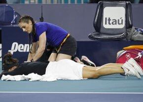 Bianca Andreescu s-a retras de la Miami, după ce câștigase un singur game din primele nouă