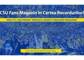 Revista fanilor baschetului sibian - record mondial la aniversarea numărului 200