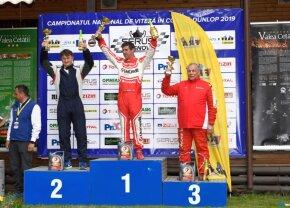 FOTO Mihai Leu a obținut locul I la clasa GTîn prima etapă a Campionatului Național de Viteză în Coastă
