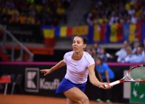 """FRANȚA - ROMÂNIA 1-1, FED CUP // VIDEO Mihaela Buzărnescu, mulțumită de prestația sa: """"De obicei sunt strictă cu mine, dar astăzi nu am ce să îmi reproșez"""""""
