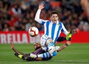 Barcelona - Real Sociedad 2-1 // VIDEO+FOTO Catalanii se impun greu pe Camp Nou și se apropie şi mai mult de mult râvnitul trofeu
