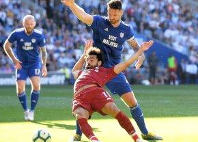 """Cardiff - Liverpool 0-2 // Mo Salah, comparat de antrenorul lui Cardiff cu un campion la sărituri în apă: """"Merita un 9,9. Nu putea sări mai bine"""""""