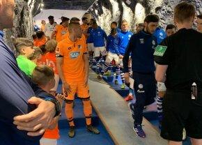 VIDEO + FOTO Copiii din selecționata U10 a Bacăului au intrat pe teren în Schalke - Hoffenheim 2-5