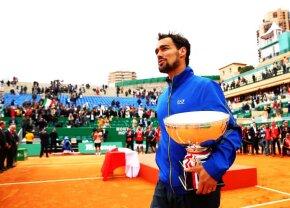 """VIDEO Fabio Fognini a rescris istoria la Monte Carlo » Italianul care l-a """"demolat"""" pe Nadal a câștigat, după ce anunțase că s-ar putea retrage din tenis!"""