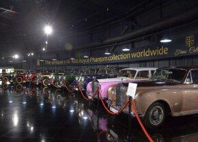 """FOTO Seria unică în lume! Ion Țiriac, singurul care deține colecția de lux Rolls Royce Phantom: """"Pe al optulea încă nu l-am cumpărat, că sunt măgar"""""""