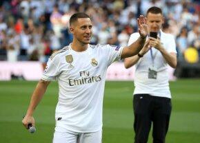 """Hazard dezvăluie: """"I-am cerut lui Modric să-mi dea numărul 10"""" » S-a reorientat după răspuns: """"Nu contează numărul"""""""