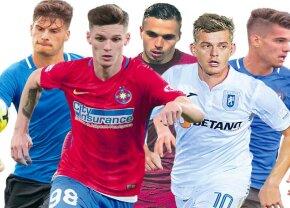 Ianis Hagi e perla Ligii 1! Specialiștii de la transfermarkt au actualizat cotele de piață ale fotbaliștilor din România