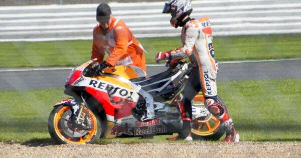 VIDEO Honda, de coșmar! I-a cedat motorul în plină cursă! Abandonul lui Marquez a relansat lupta la titlu în MotoGP