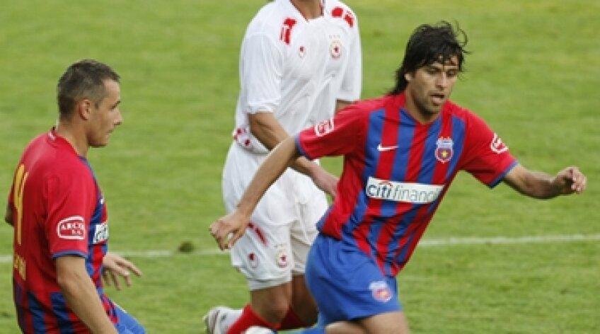 Juan Carlos Toja, Toja, Steaua