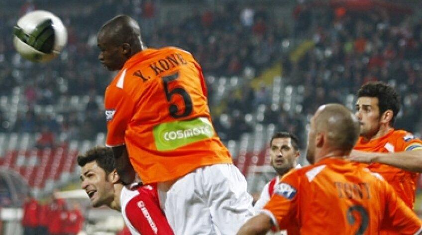 Yssouf Kone, Kone, CFR Cluj, Florin Bratu, Bratu, Dinamo