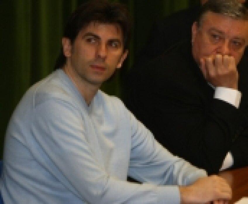 ionut lupescu, director general FRF, mircea sandu, presedinte frf