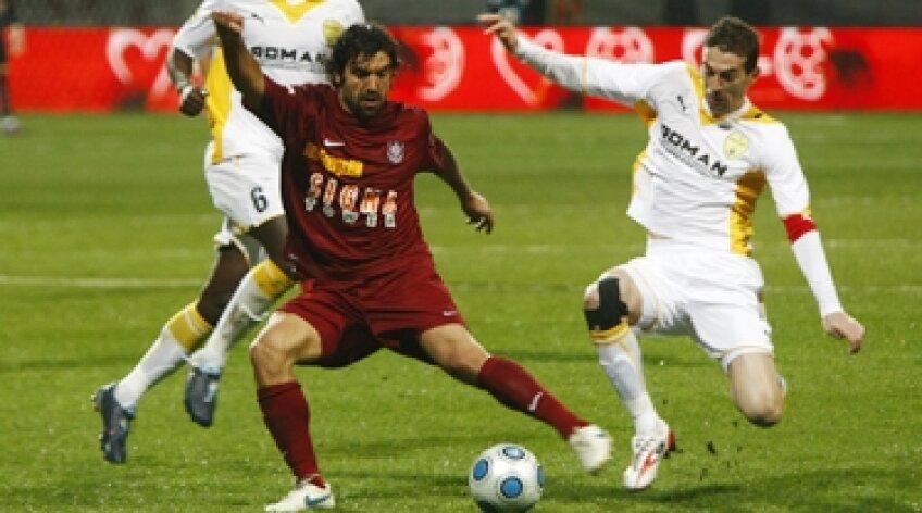 Juan Culio, Cluio, CFR Cluj, Marius Măldărăşanu, Măldărăşanu, FC Braşov