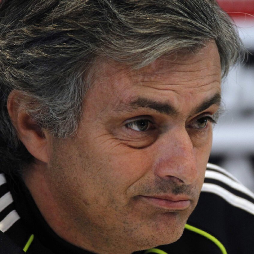 Jose Mourinho, într-o conferinţă de presă