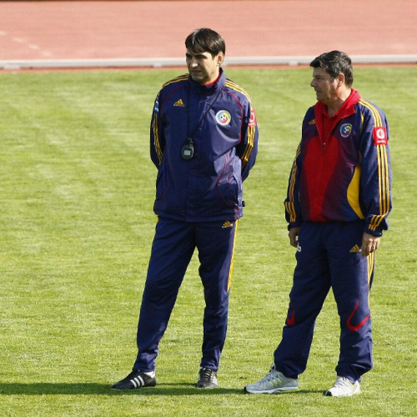 Apolzan a colaborat si cu Piturca la echipa nationala