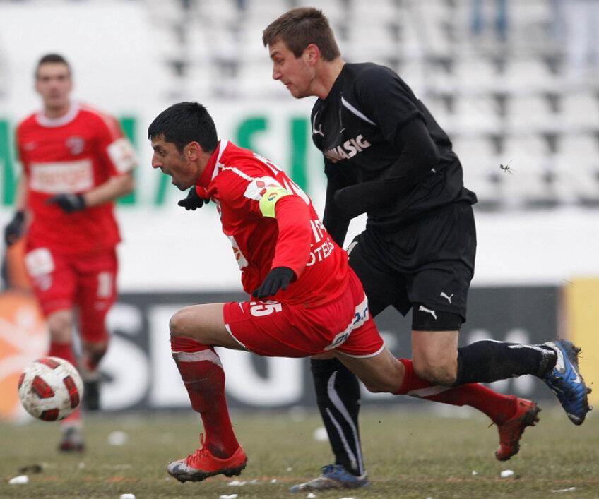 Dănciulescu este mulţumit de evoluţia echipei sale în meciul cu Sportul