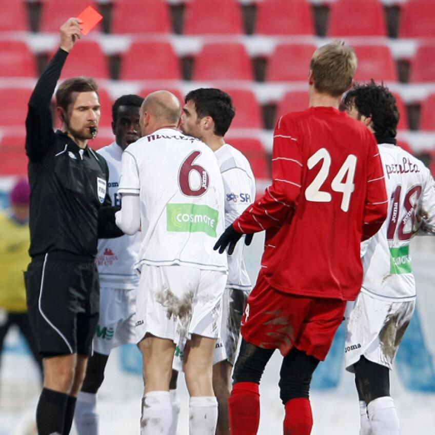 Gabi Mureşan va lipsi în derby-ul de sîmbătă viitoare cu Poli Timişoara, transmis de DigiSport