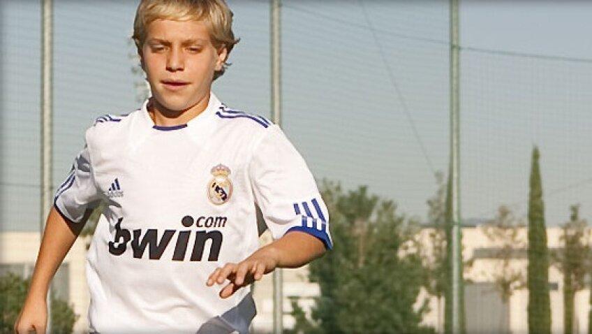 Nicuşor Craiu (Real Madrid, sursa foto: realmadrid.com)